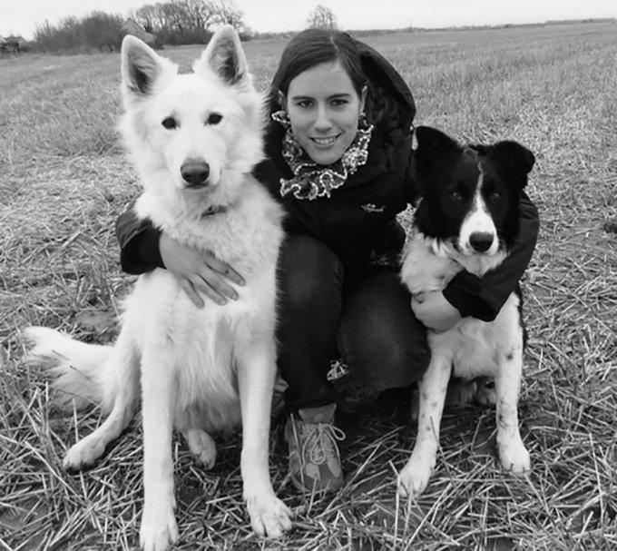 Nathalie et ses chiens Derek et Heaven sont sur Yummypets
