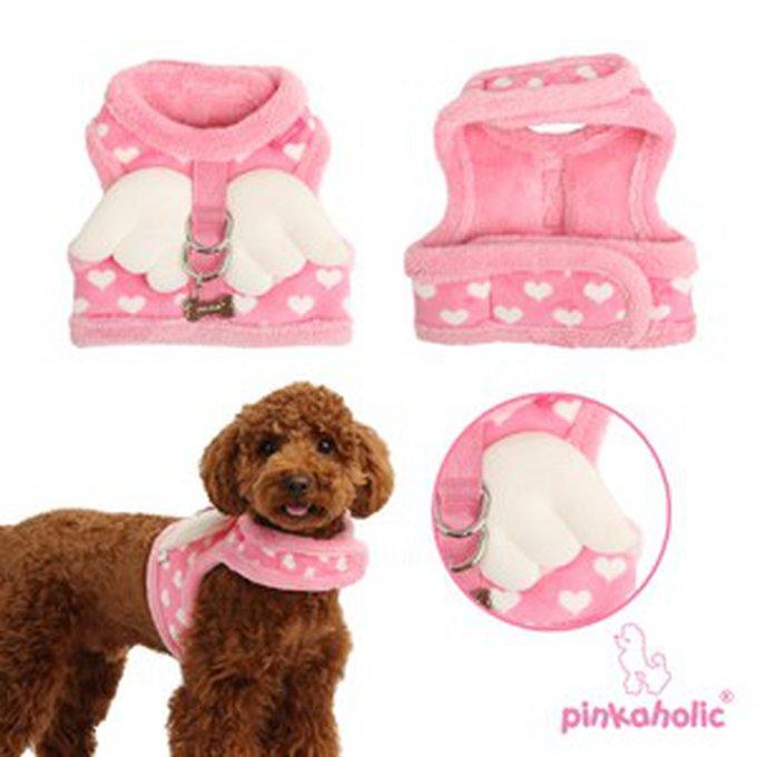 harnais-pour-chiens-pinkaholic-dreamy-rose