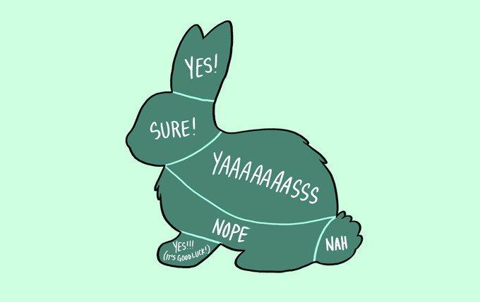 caresser un lapin