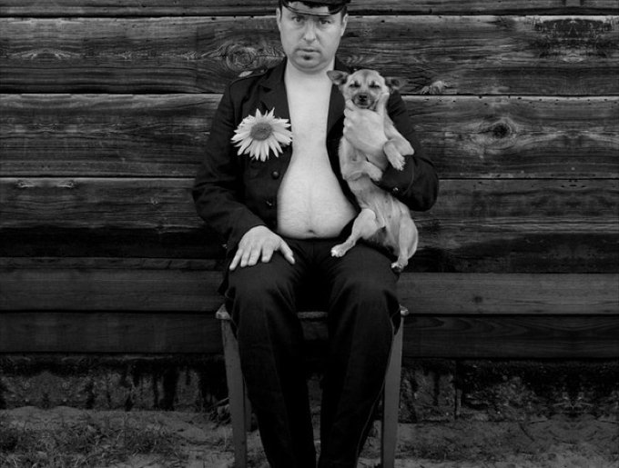propriétaire et son chien