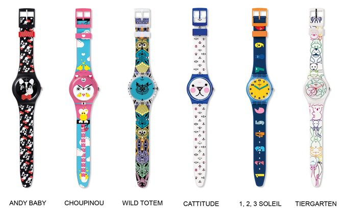 Montres Swatch, collection My Pet & Me