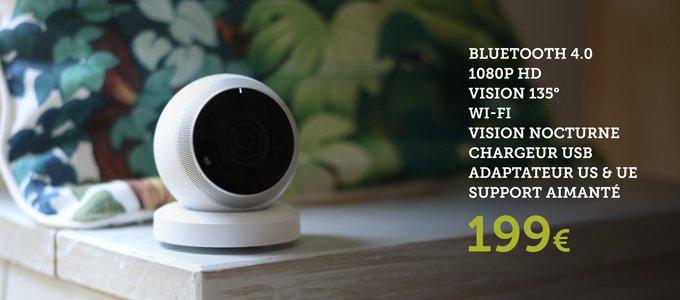 Caméra circle de Logitech, descriptif produit
