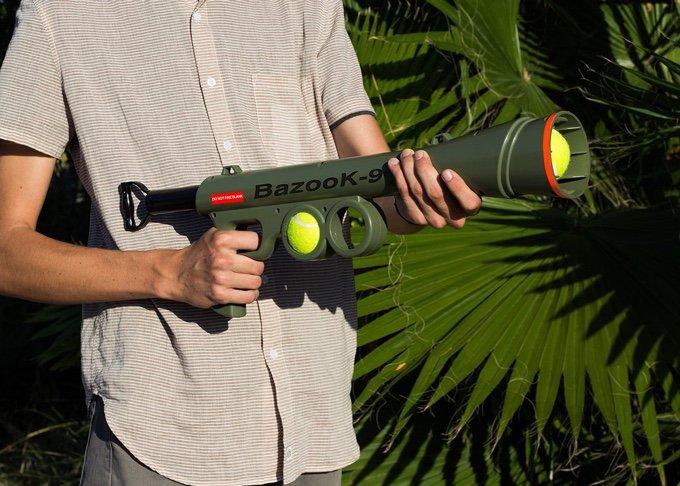 bazooka à balle pour chien