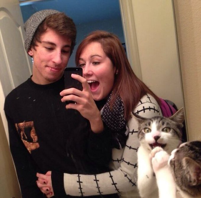 chat selfie