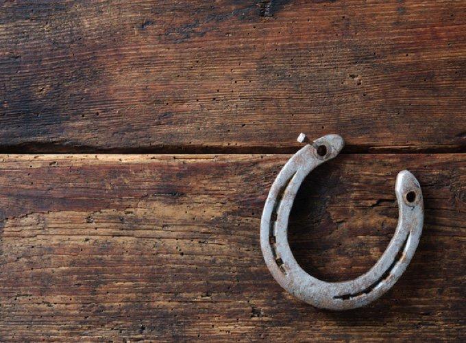 superstitions sur les animaux : fer à cheval